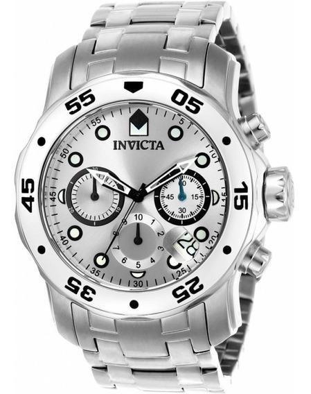 Relógio Fg55 Invicta Pro Driver Scuba 0071 Puls Prata Oferta