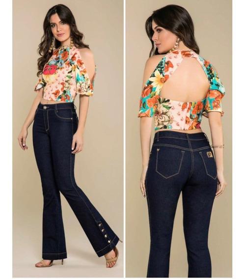 Calça Jeans Flare Zap Brazil - Lançamento