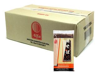 Caixa Macarrão Para Yakissoba Alfa 500 Gramas 20x Hachi8