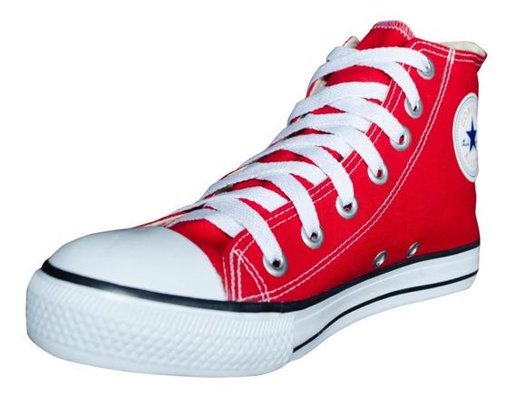 Tênis Converse All Star Cano Alto Vermelho Infantil