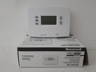 Termostato Horizontal Honeywell Digital Programable Pro 2000