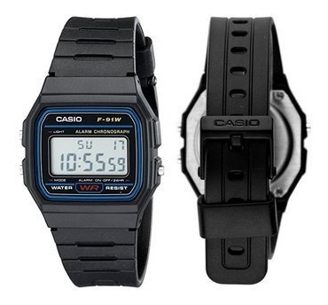 Reloj Casio Digital F-91 Moda Retro Vintage Remate