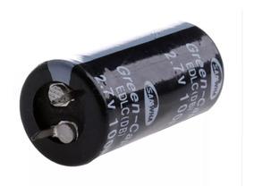 10x Super Capacitor 100f 2.7v - Green Cap Eletrolítico