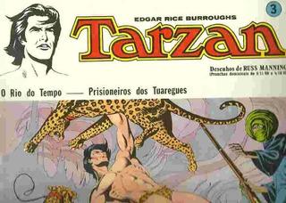 Gibi Hq Tarzan O Rio Do Tempo Prisioneiros Dos Tuaregues