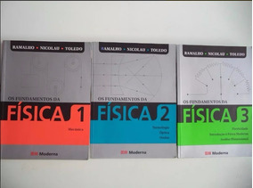 Coleção Os Fundamentos Da Física Ramalho 9ª Edição Completo