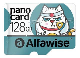 Micro Sd Alfawise 128gb Sdxc, 95/mb (pronta Entrega)