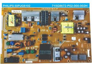 Fuente Tv Philips 50pug6102 6102 715g8672-p02-000-002h
