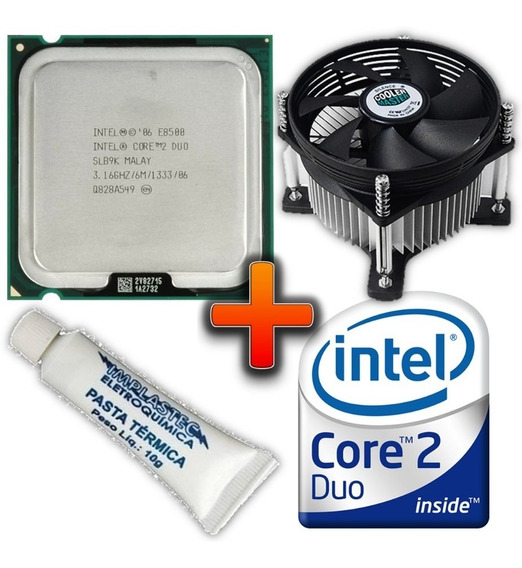 Processador Intel Core 2 Duo E8500 3.16ghz 6mb + Cooler 775