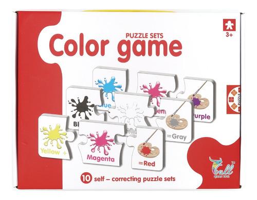Puzzle Juego De Colores.