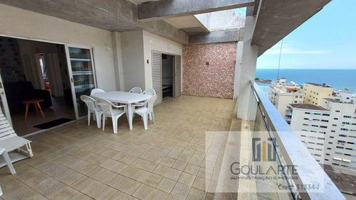Apartamento Cobertura Para Alugar Em Guarujá/sp - 3505