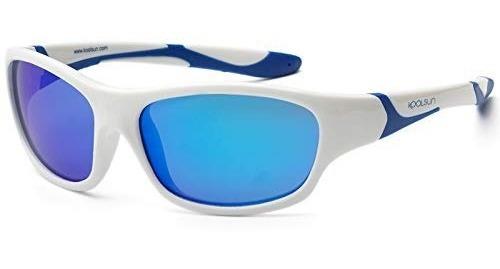 Koolsun - Sport Lente De Sol Niño White Royal Blue 6-12 Años