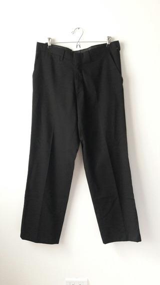 Pantalon De Vestir De Hombre Recto