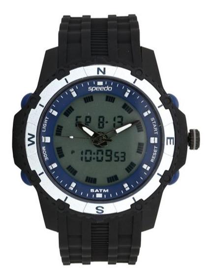 Relógio Masculino Speedo 81138g0evnp2 Preto
