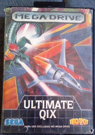 Cartucho Mega Drive Jogo - Ultimate Qix - Tec Toy - Original
