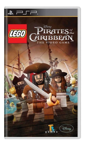 Lego Pirates Of The Caribbean The Video Game Psp Física