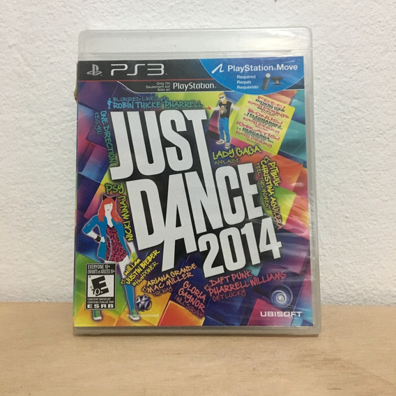 Jogo Ps3 Playstation 3 Just Dance 2014 Novo Original