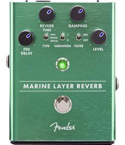 Pedal Fender Marine Layer Reverb Guitarra Violão Baixo