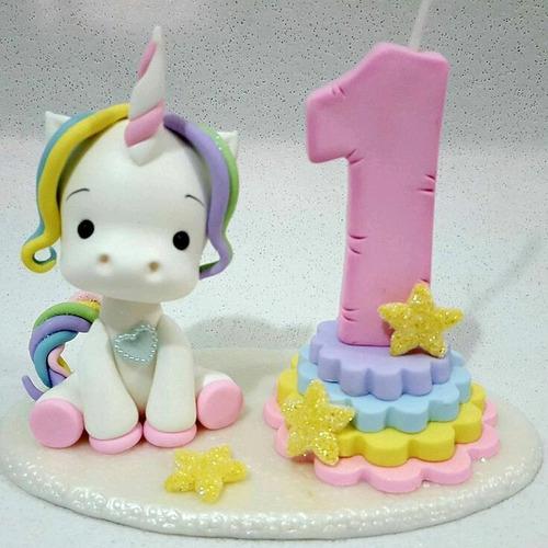 Imagen 1 de 9 de Unicornio Para Pastel Y Decorar