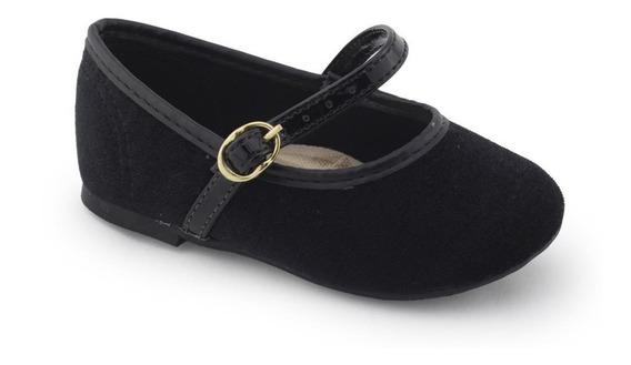 Sapatilha Sapato Infantil Veludo 2106163 - Molekinha