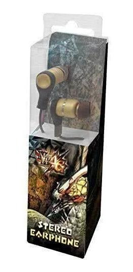[exclusividade] Fone Stereo Earphone Monster Hunter - Capcom