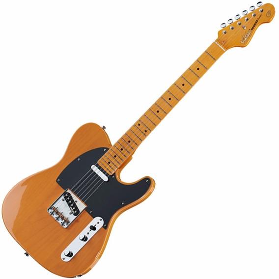 Guitarra Vintage Telecaster Reissued V52 Butterscotch Bs