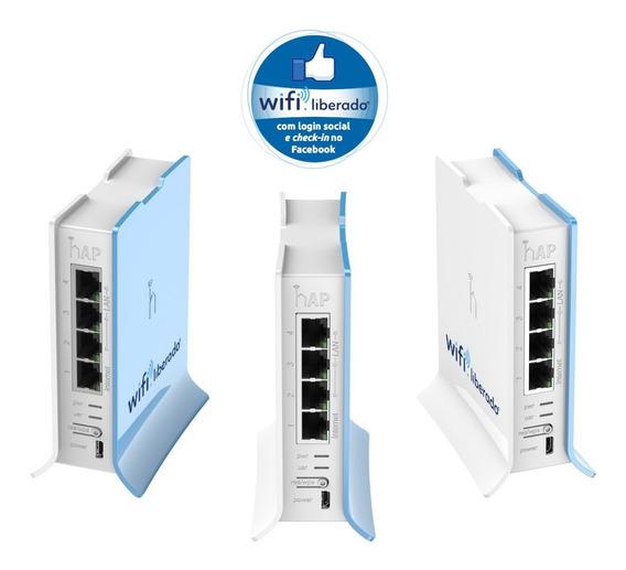 Wifi Hotspot Social Wifi Liberado Rb 750 100 Usuarios