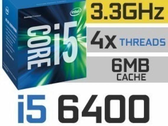 Processador Intel Core I5 6400 6 Geracao + Cooler Intel