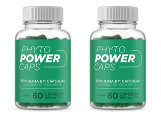 Remedio Para Emagrecer Rapido Phyto Power Caps 2 Unidades