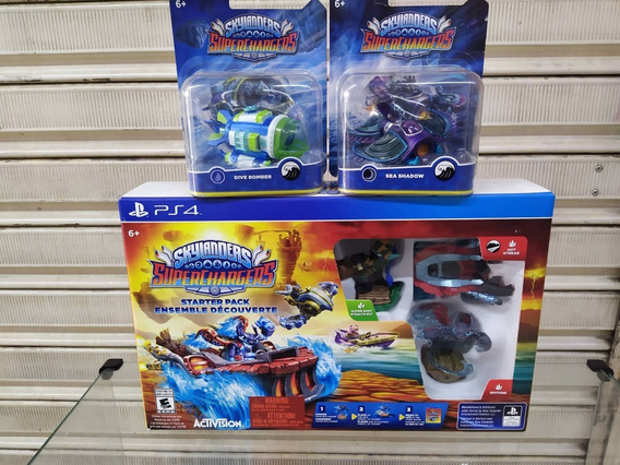 Ps4 Skylanders Supercharges + 2 Submarinos.