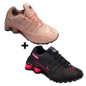 6456ee6f9d2 Nike Shox Feminino Tamanho 34 - Tênis Rosa no Mercado Livre Brasil