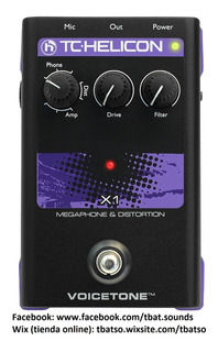 Tc Helicon Voicetone X1 Megaphone & Distortion
