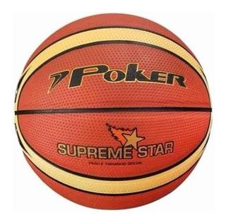 Bola Basquete Poker Supreme Star + Bomba Poker