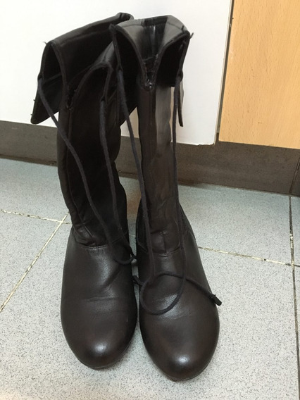 Botas Altas Nena,marca Zara, Talle 32, Importadas,impecables