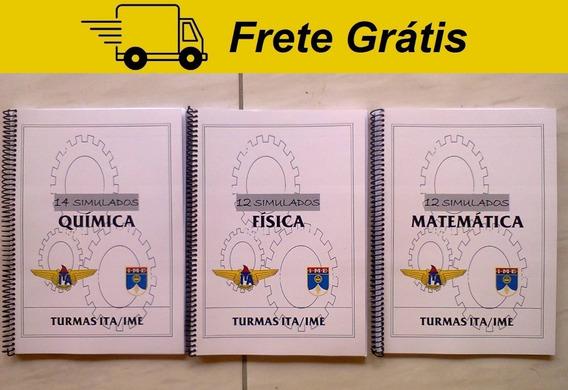 Ita / Ime Simulados Mat, Fís, Quí - Ari De Sá & Farias Brito