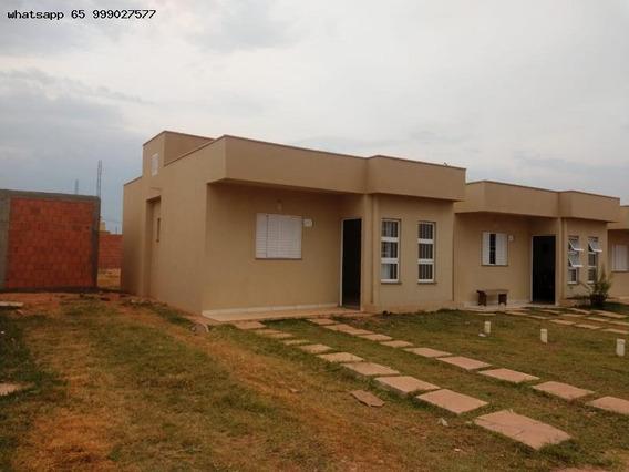 Casa Para Venda Em Várzea Grande, Paiaguas, 2 Dormitórios, 1 Banheiro, 2 Vagas - 213_1-1307074