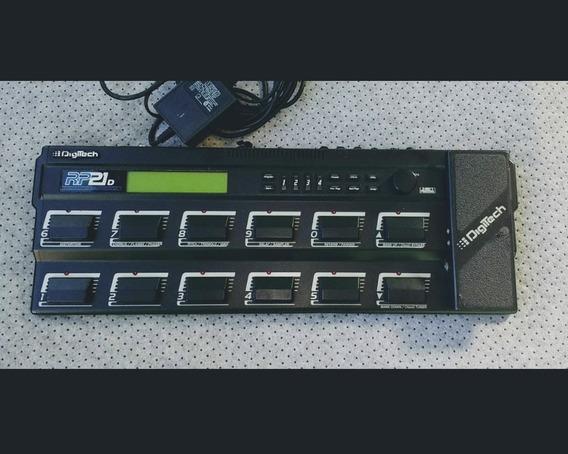 Pedaleira Pedal Valvulado Guitarra Digitech Rp 21 D = Rp 20