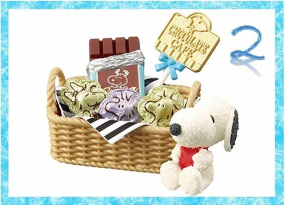 Re-ment Miniaturas Snoopy Chocolate Cafe 2 Barbie