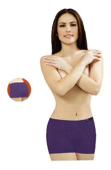 Boxer Largo Body Siluette Ropa Interior Mujer Sexy Mod. 2533