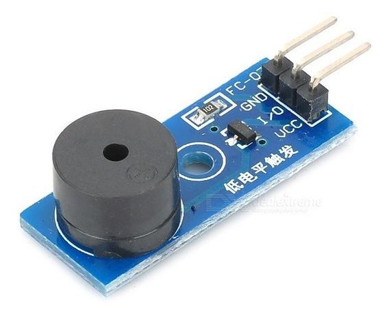 Módulo Buzina Buzzer Ativo Arduino Emissor Som Frete Grátis