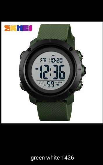 Relógio Skmei Novo Cor Verde