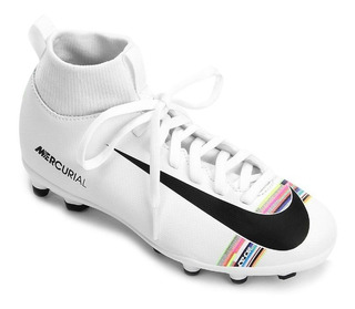 Chuteira Nike Boots Botinha Campo Superfly 6 Club Cr7 Mg