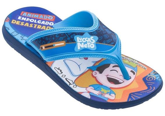 Chinelo Infantil Luccas Neto 22154 - Grendene Kids