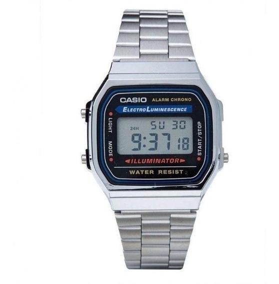 Relógio Casio 1 Linha Unissex Retrô A168wg-9wdf.