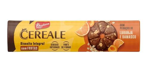 Imagem 1 de 1 de Biscoito Cereale & Frutas Damasco E Laranja Bauducco 147g