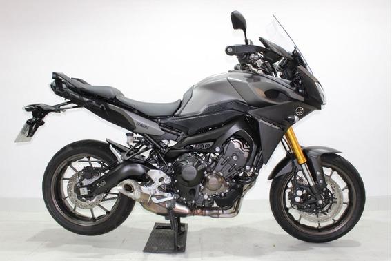 Yamaha Mt 09 Tracer 2017 Cinza