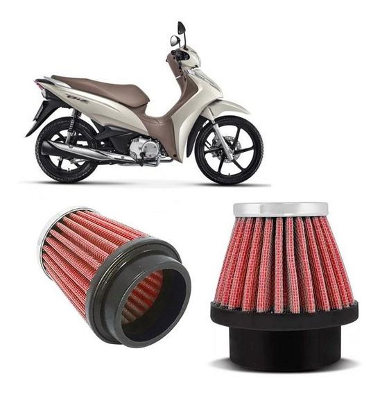 Filtro De Ar Esportivo Para Moto 43mm-dt Titan Fazer