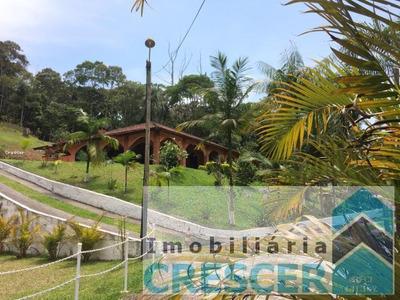 Sítio Para Venda Em Mogi Das Cruzes, Taiacupeba, 4 Dormitórios, 4 Suítes, 5 Banheiros, 10 Vagas - R001