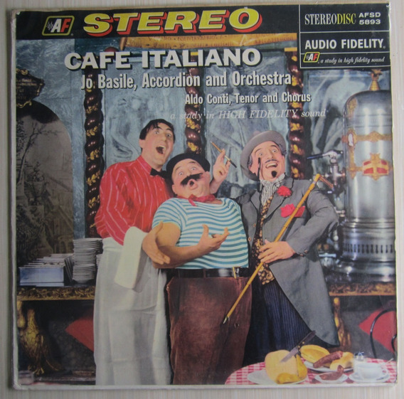 Lp Café Italiano Jo Basile