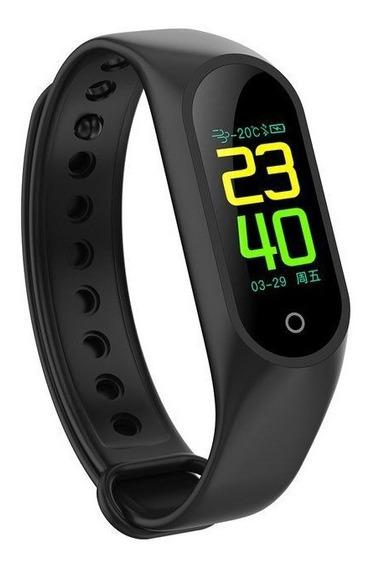 Bracelete Smart Monitor Cardíaco M3 Bluetooth Relógio
