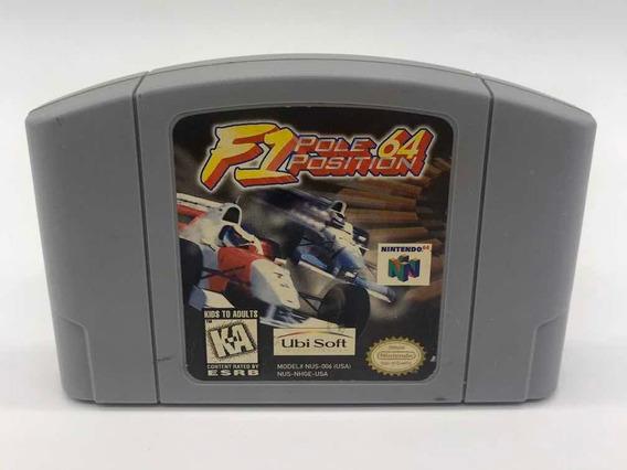 F1 Pole Position Nintendo 64 N64 Original Americano